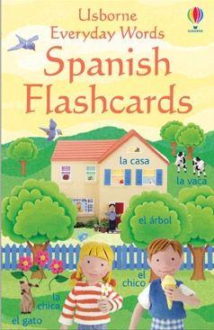 karty z wyrazami po hiszpańsku